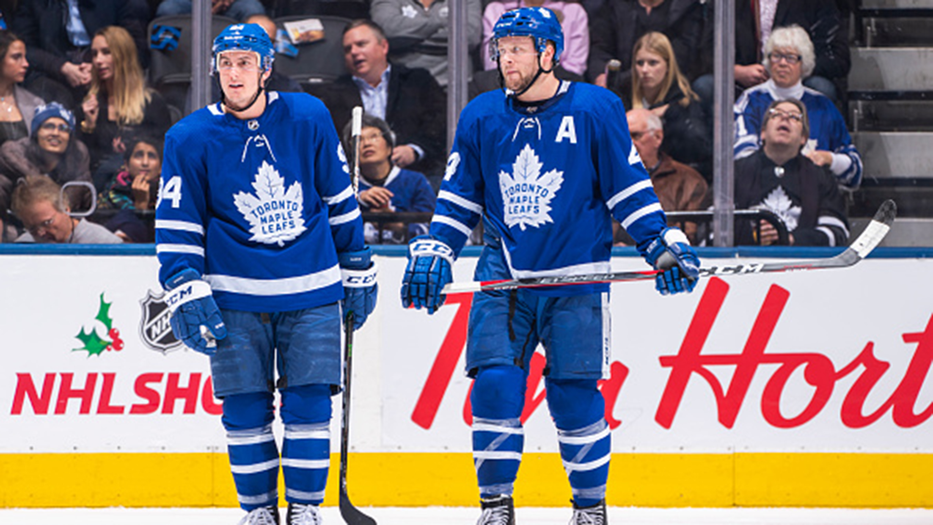Leafs Ice Chips: B.C. boys Rielly, Barrie, continue to work on chemistry