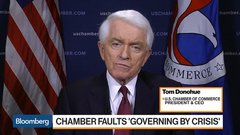 U.S. Chamber CEO Says Shutdown Having Material Impact on Business