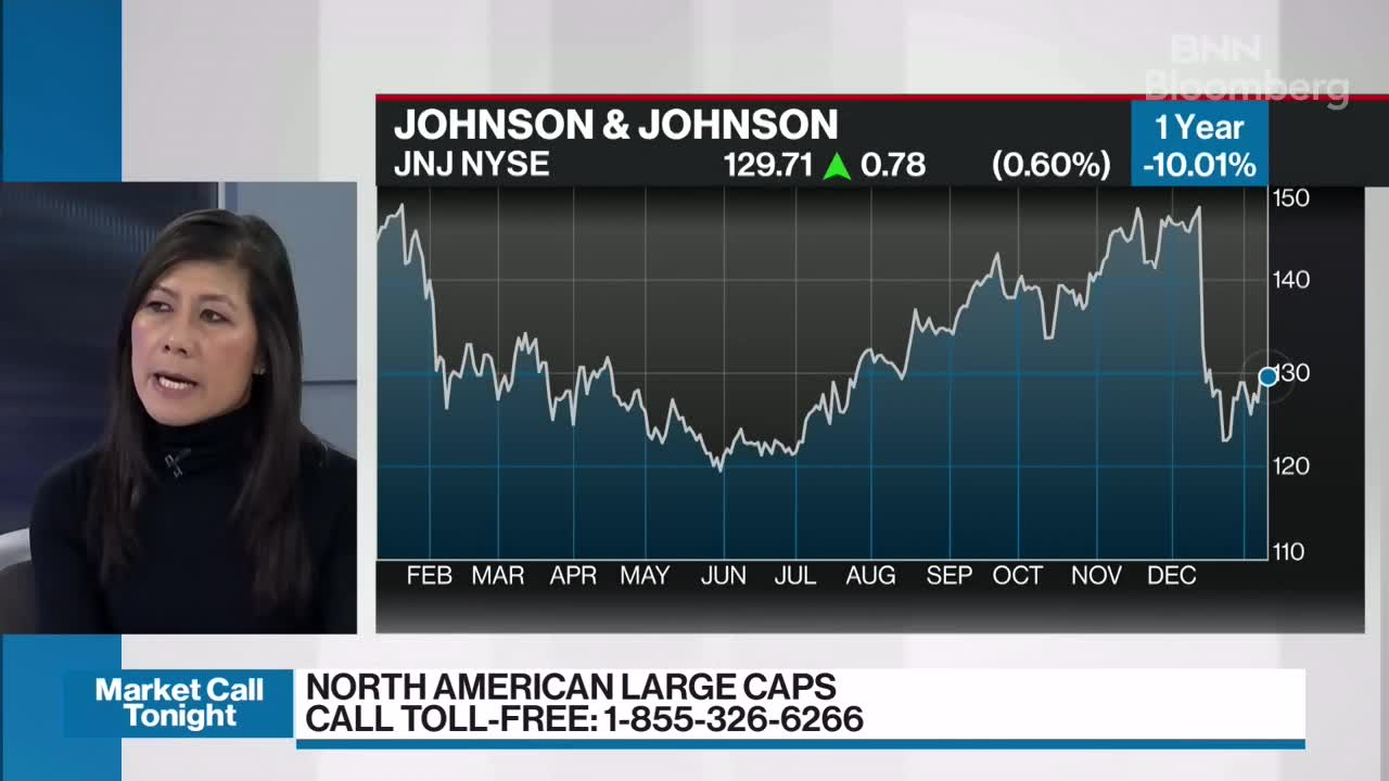 Christine Poole discusses Johnson & Johnson - Video - BNN