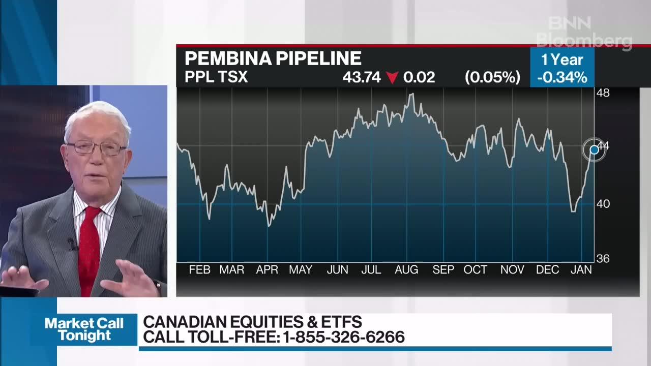 David Cockfield discusses Pembina Pipeline - Video - BNN