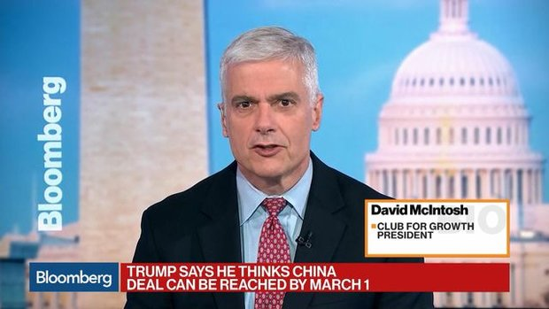 Trump Should Scrap Steel Tariffs After New Nafta Deal, McIntosh Says
