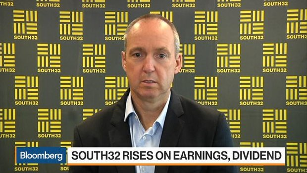 South32 CEO Sees Strong Demand for Aluminium Going Forward