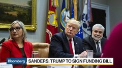 Trump Said to Sign Funding Bill, Plans Emergency Declaration