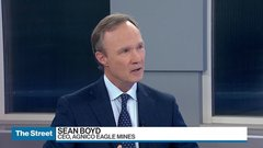Agnico Eagle CEO Sean Boyd: We don't need a big takeover to grow
