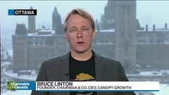 Canopy's Bruce Linton explains what's behind the ballooning expenses