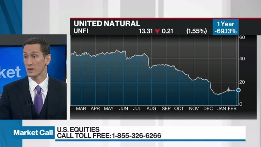 Cameron Hurst discusses United Natural Foods - Video - BNN