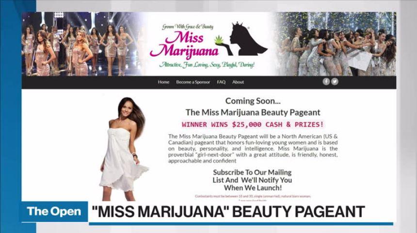 Miss Marijuana' beauty pageant launches - Video - BNN