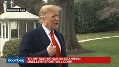 Trump Says He Doesn't Mind Mueller Report Being Made Public