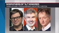 Canadian AI researchers win prestigious Turing Award