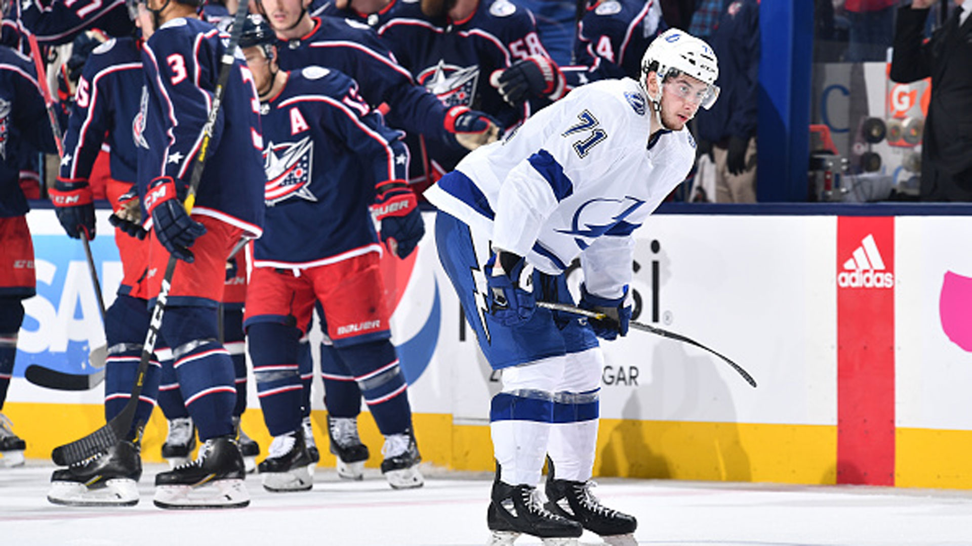 Blue Jackets send Lightning packing with unprecedented sweep