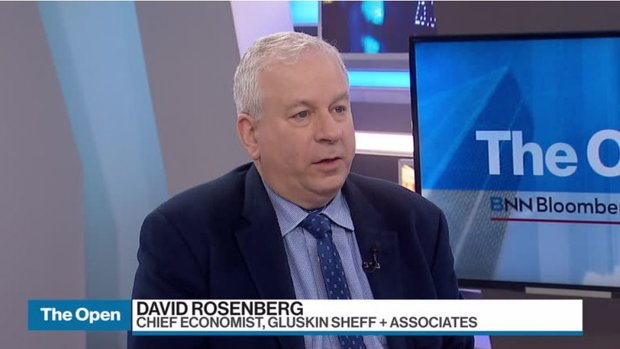 Canada's 'historical' debt bubble could hit banks: Rosenberg