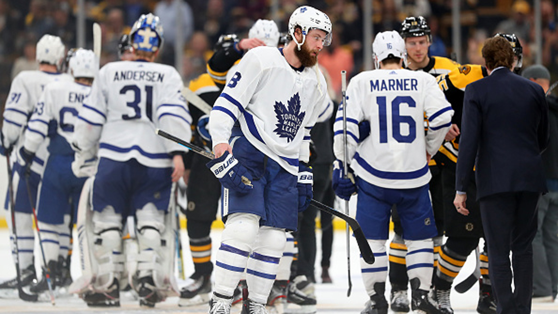 NHL: Maple Leafs 1, Bruins 4