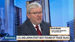 U.S. Trade Policy Is Going Through a Sea-Change, Ex-Australian Prime Min. Rudd Says