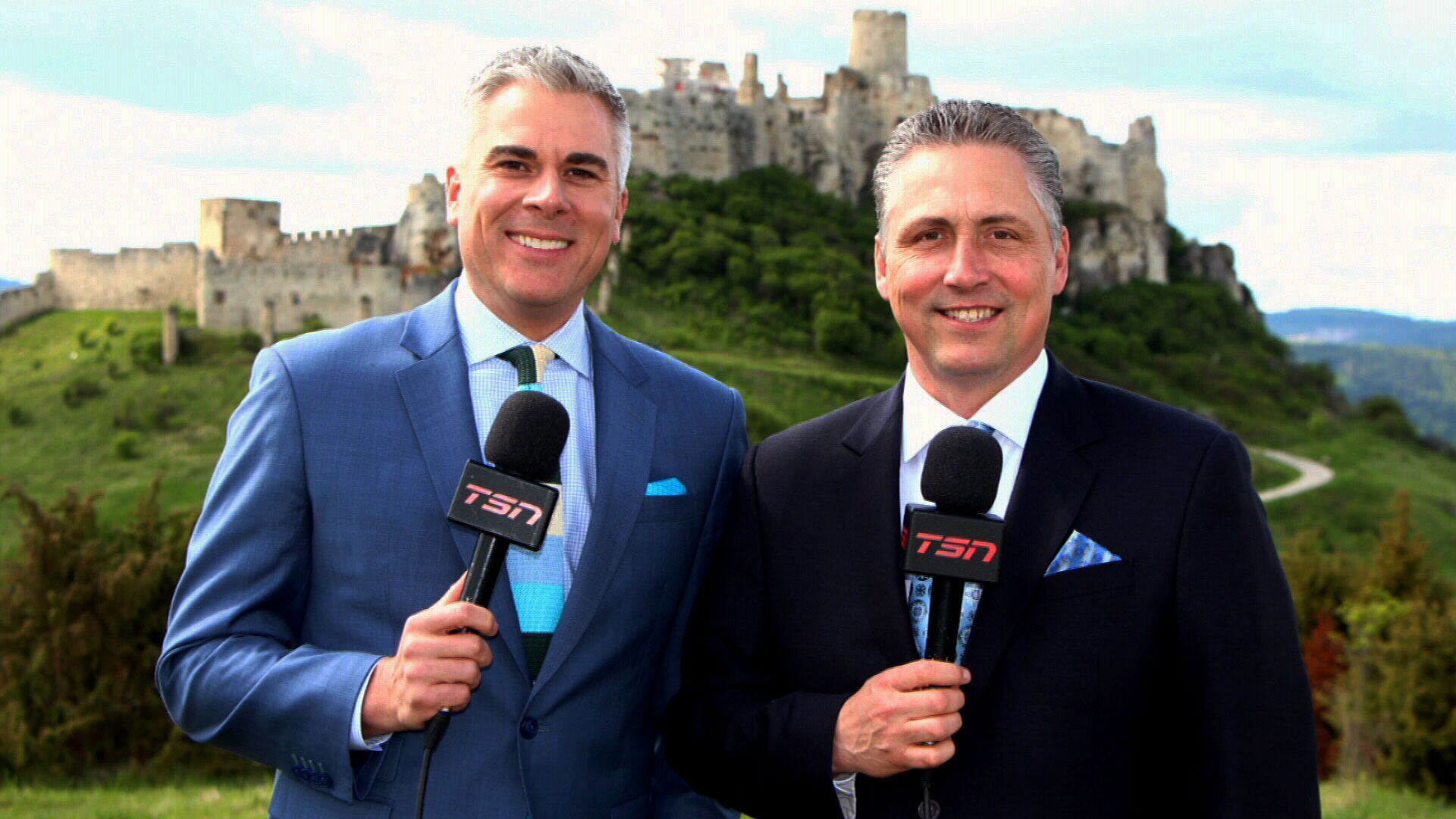 Dreger, Wallace take in the sights at Spiš Castle