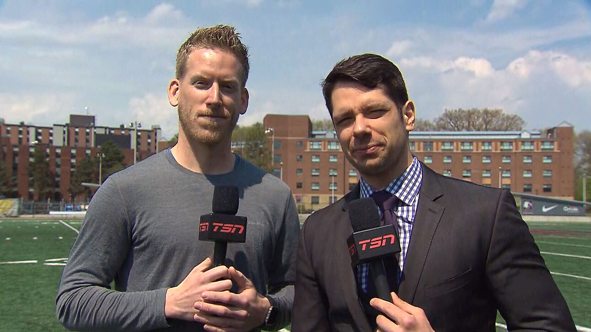 Scianitti, Ferguson share their expectations for Ticats training camp