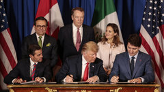 As China fight escalates, ratifying new NAFTA becomes Trump's priority