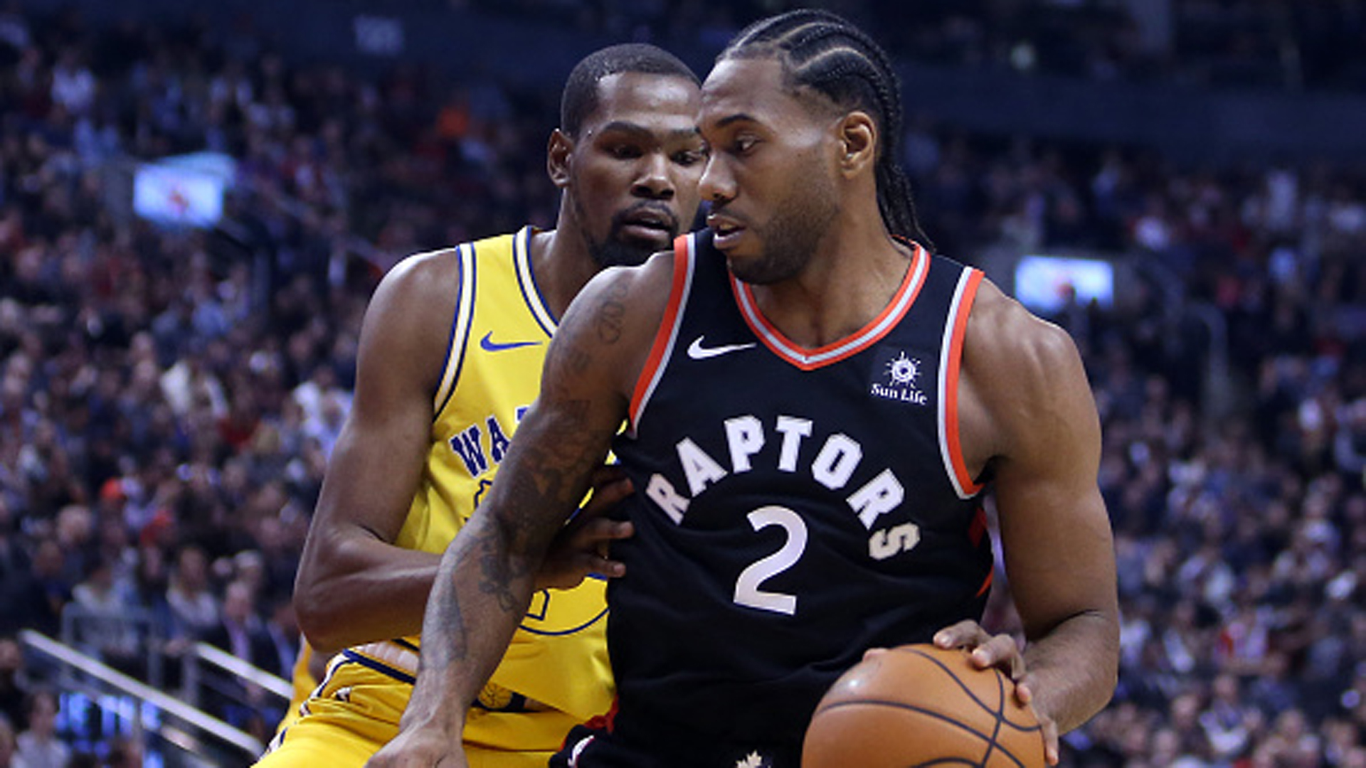 Stephen A.: 'I have to give Golden State the edge' vs. Raptors