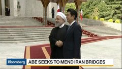 Japan's Abe Seeks to Mend Iran Bridges