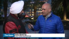 'The longest point-nine seconds': Superfan Nav Bhatia relieved by Raptors' historic win