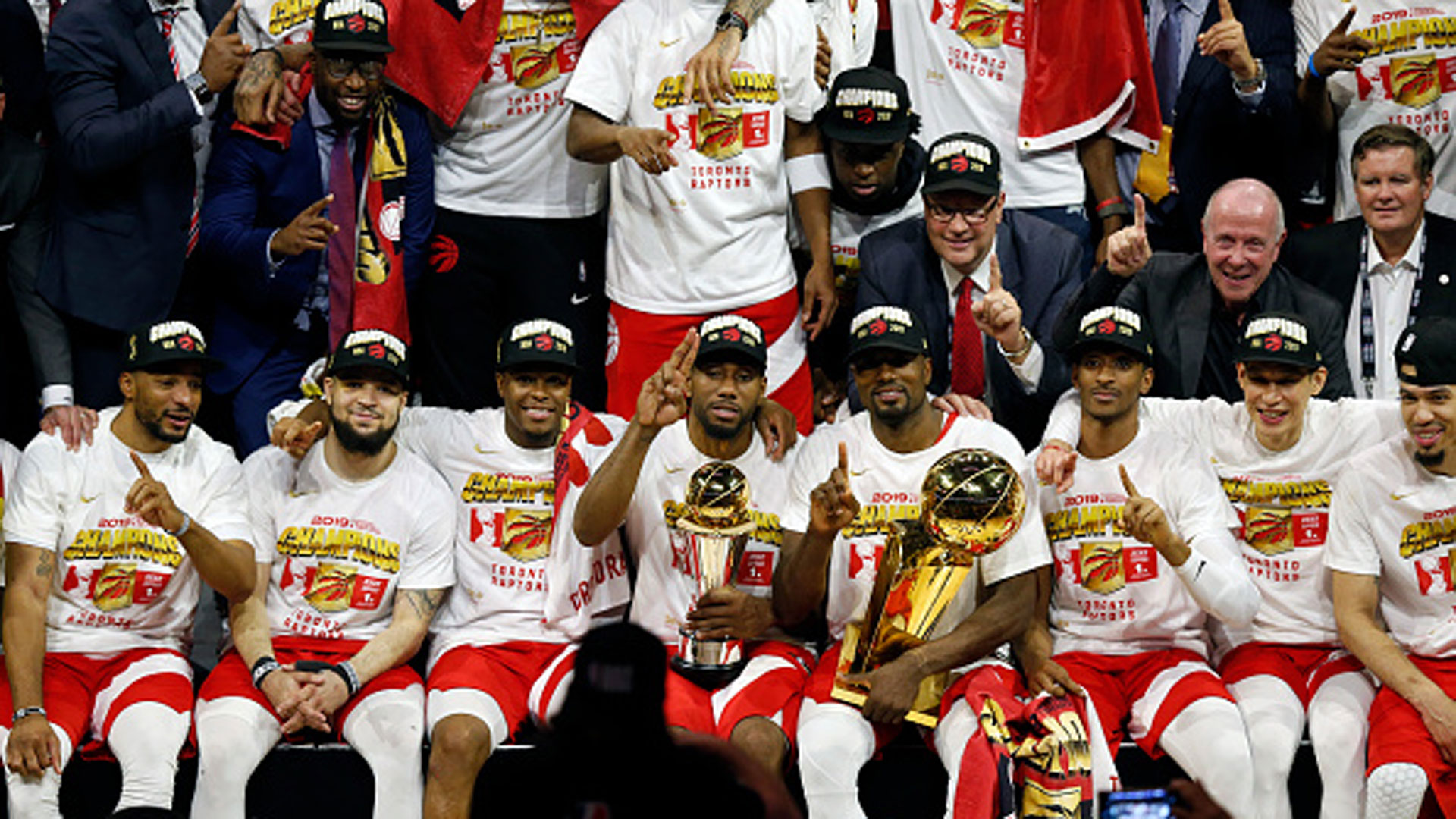 Raptors plant Canadian flag atop NBA Mount Everest with historic victory