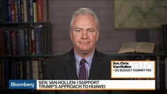 Sen. Van Hollen Says He Supports Trump's Approach to Huawei