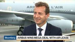 Airbus edges back into lead with Paris orders for newest jet