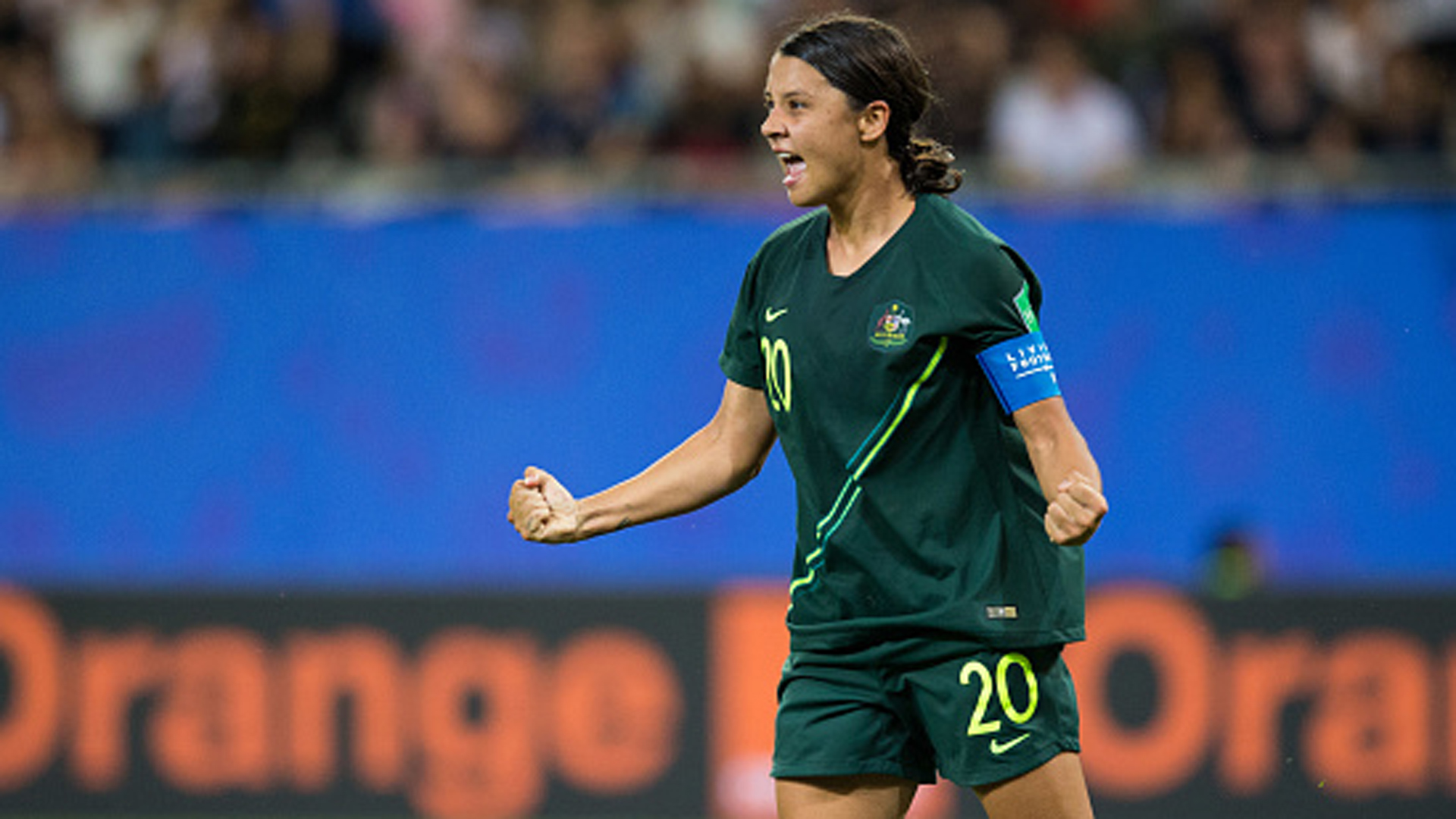 5846a4ce9 Sam Kerr has 4 goals and Australia beats Jamaica 4-1 - TSN.ca