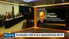 Plosser: Fed Can't React to Twitter Comments When Conducting Policy