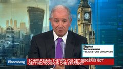 Schwarzman on Ethics of AI, China, Trump, Private Equity Deals