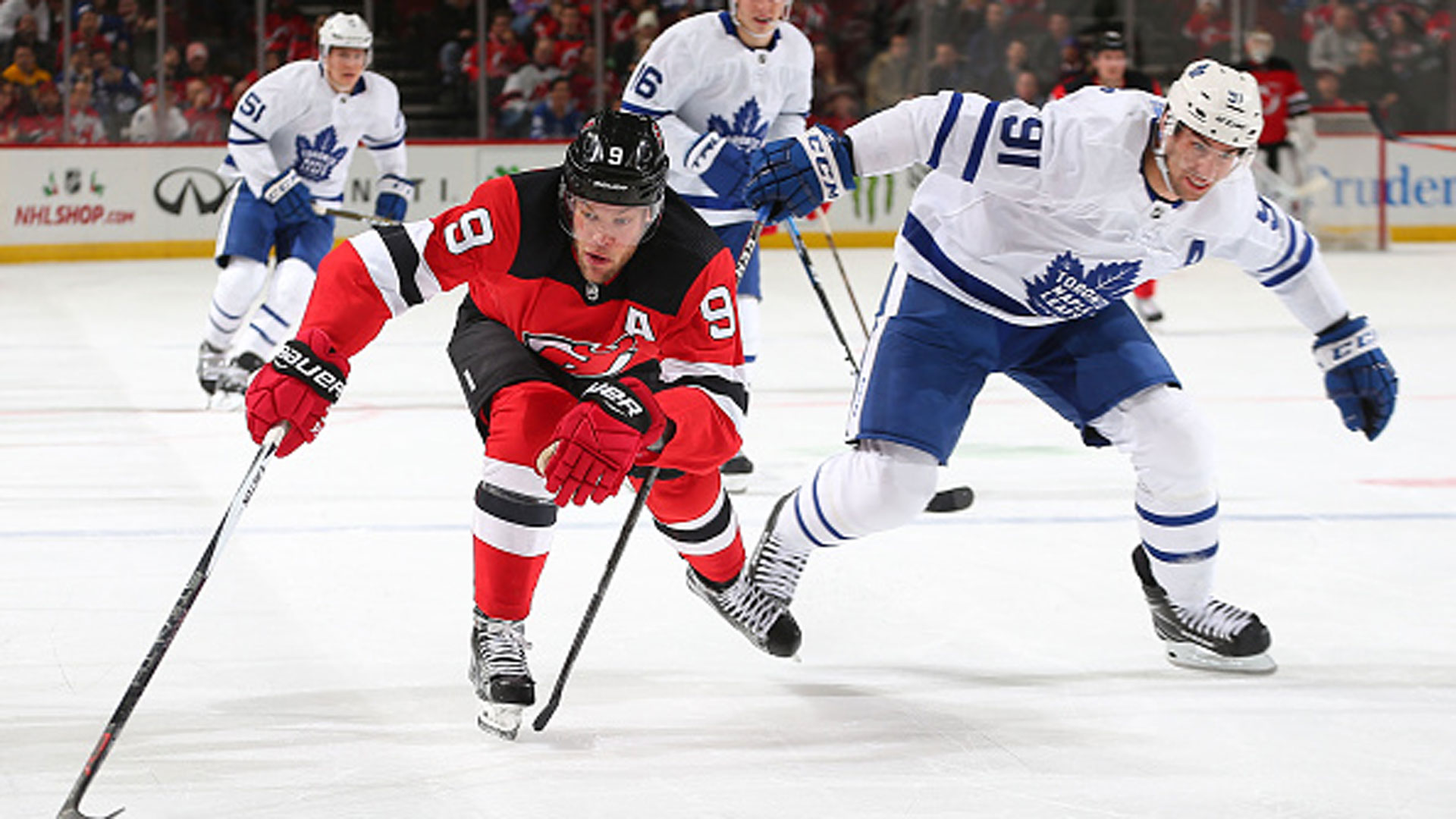 ac87bb6e Convincing Taylor Hall to stay is no easy task for New Jersey Devils -  TSN.ca