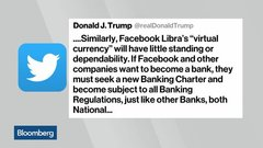 Trump, Democrats Unite in Distrust of Facebook's Libra Proposal