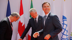 G7 finance ministers meet in France