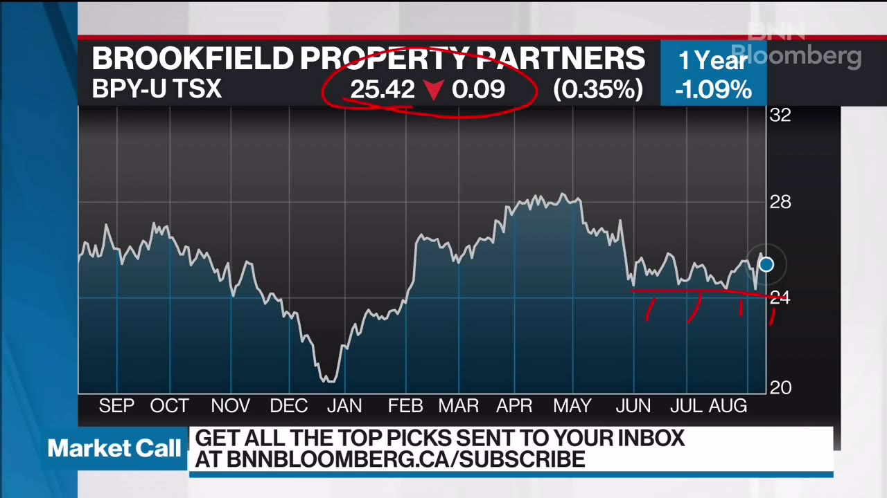 Hap Sneddon discusses Brookfield Property Partners - Video - BNN