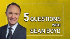 5 questions with Agnico Eagle Mines CEO Sean Boyd