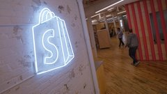 Shopify run propels it into top 10 biggest firms on the TSX