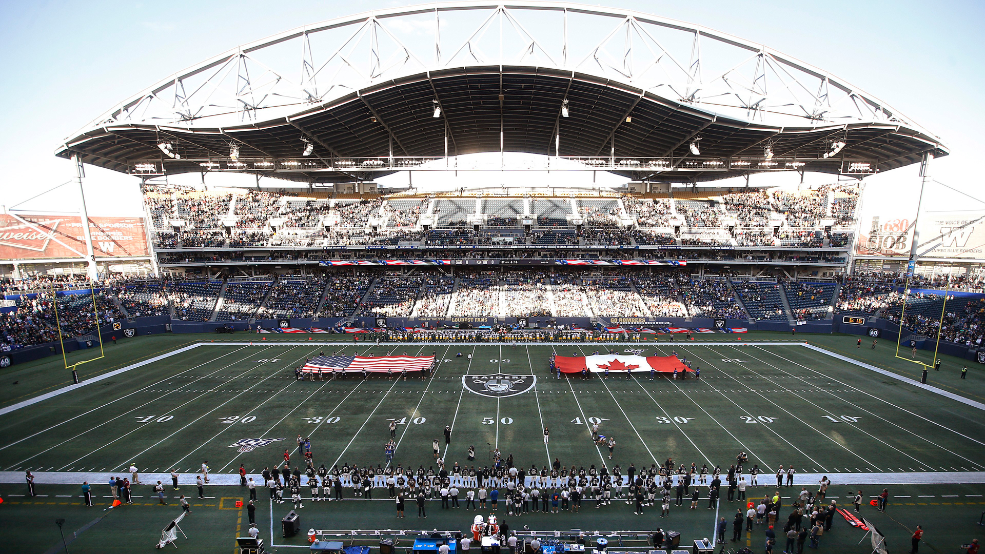 39d7325e Carlson hits late field goal as Raiders edge Packers in Winnipeg ...