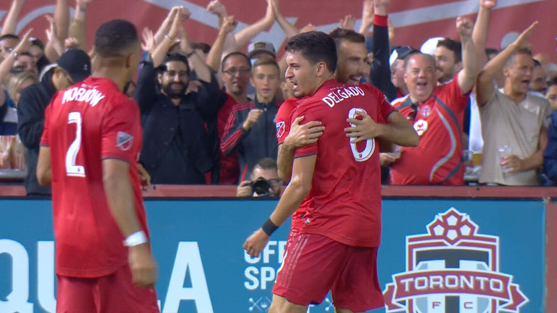 Delgado brings TFC level with 63rd minute marker