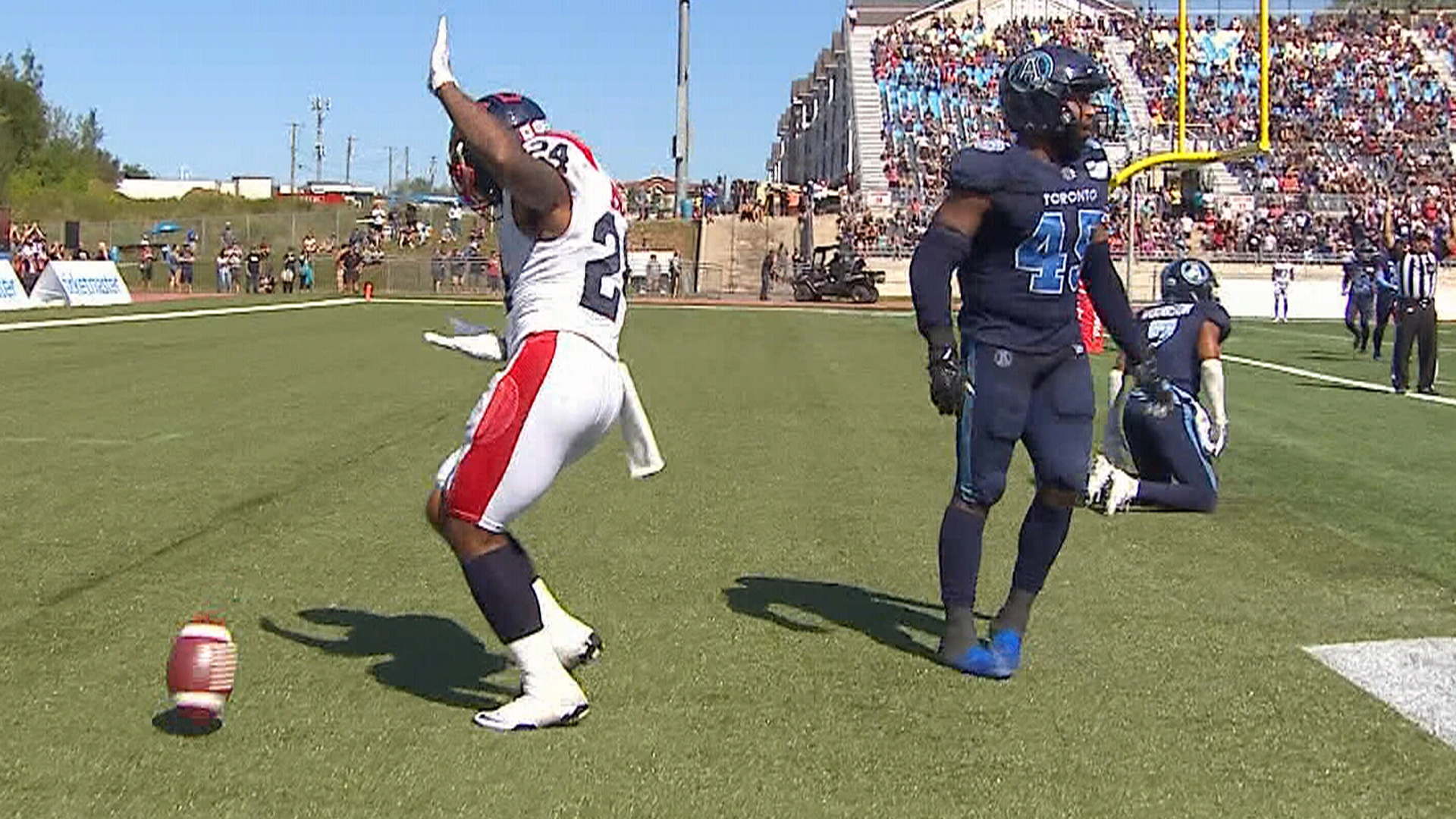 Argos, Als put on a phenomenal show in the Maritimes