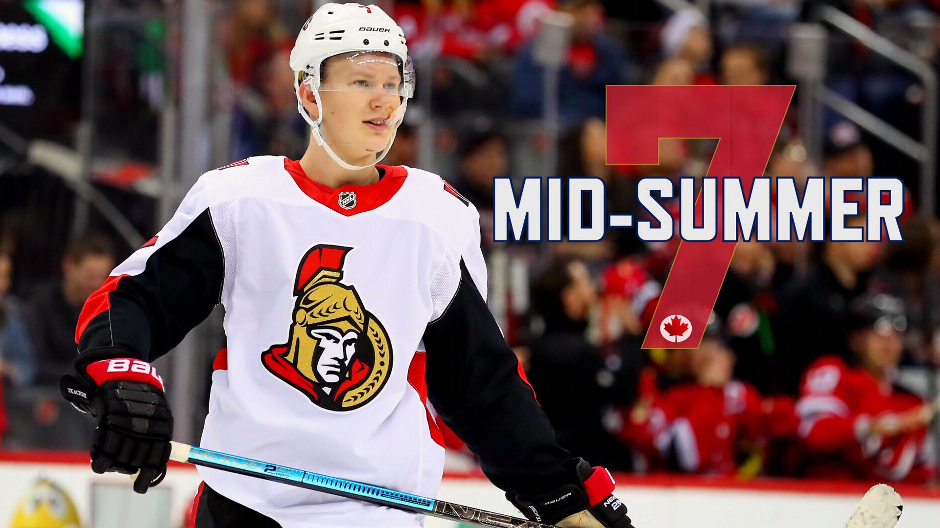 Mid-Summer 7: Rebuild continues as Senators still a team in transition