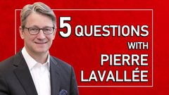 My favourite musician is Pink: 5 questions with Infrastructure Bank CEO Pierre Lavallee