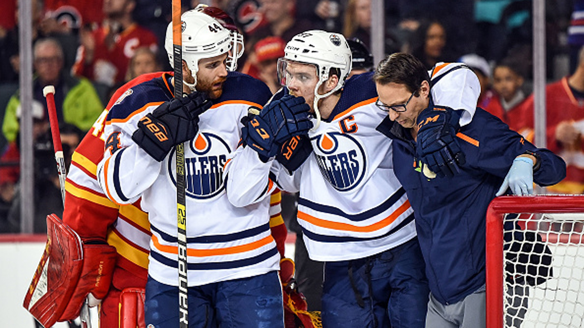 Holland says McDavid will play one pre-season game 'at most'