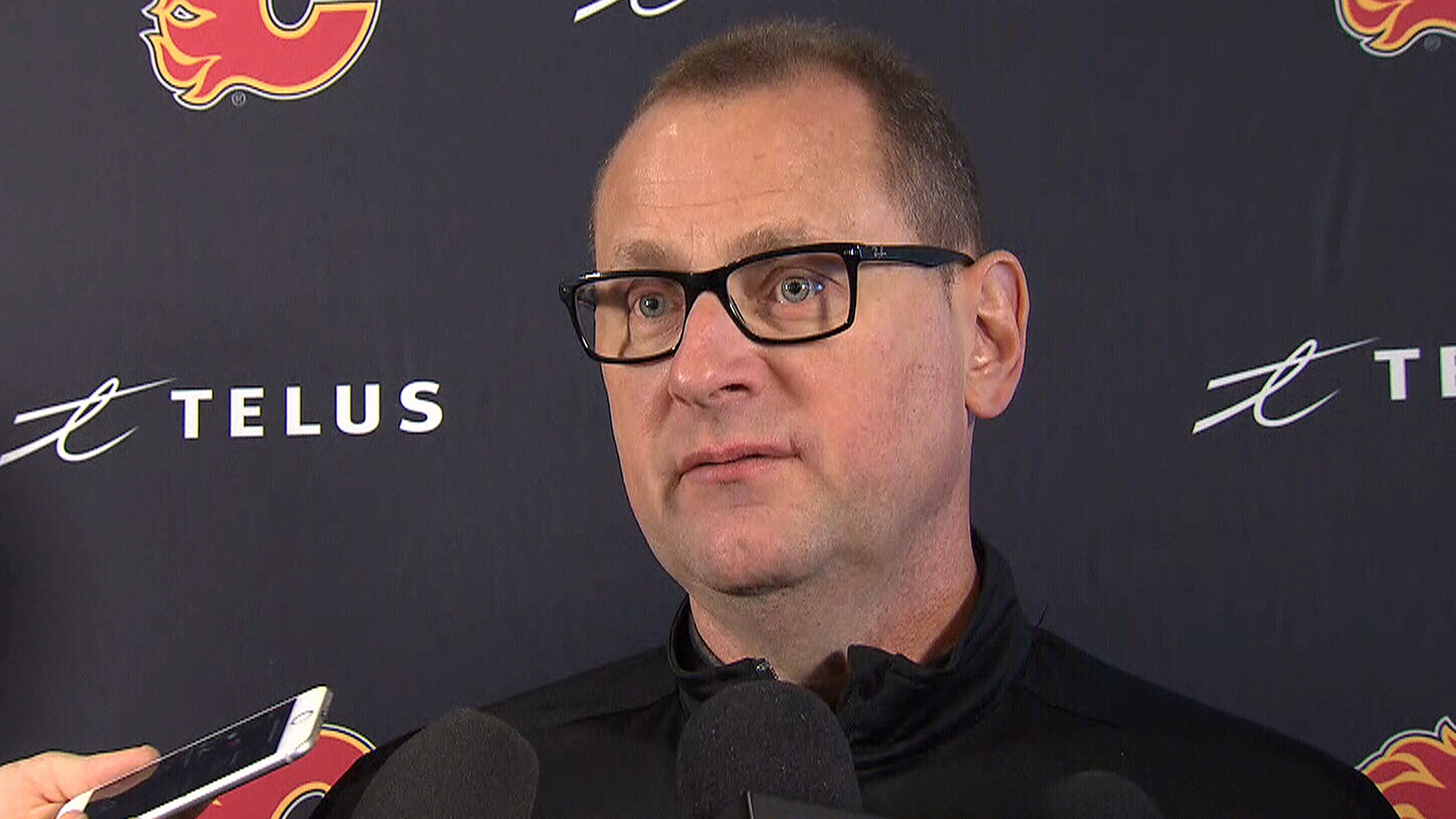 Treliving on talks with Tkachuk: 'It's sort of Groundhog Day, but you just keep working'