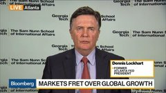 Lockhart: General Slowdown Is Biggest Risk to Global Economy