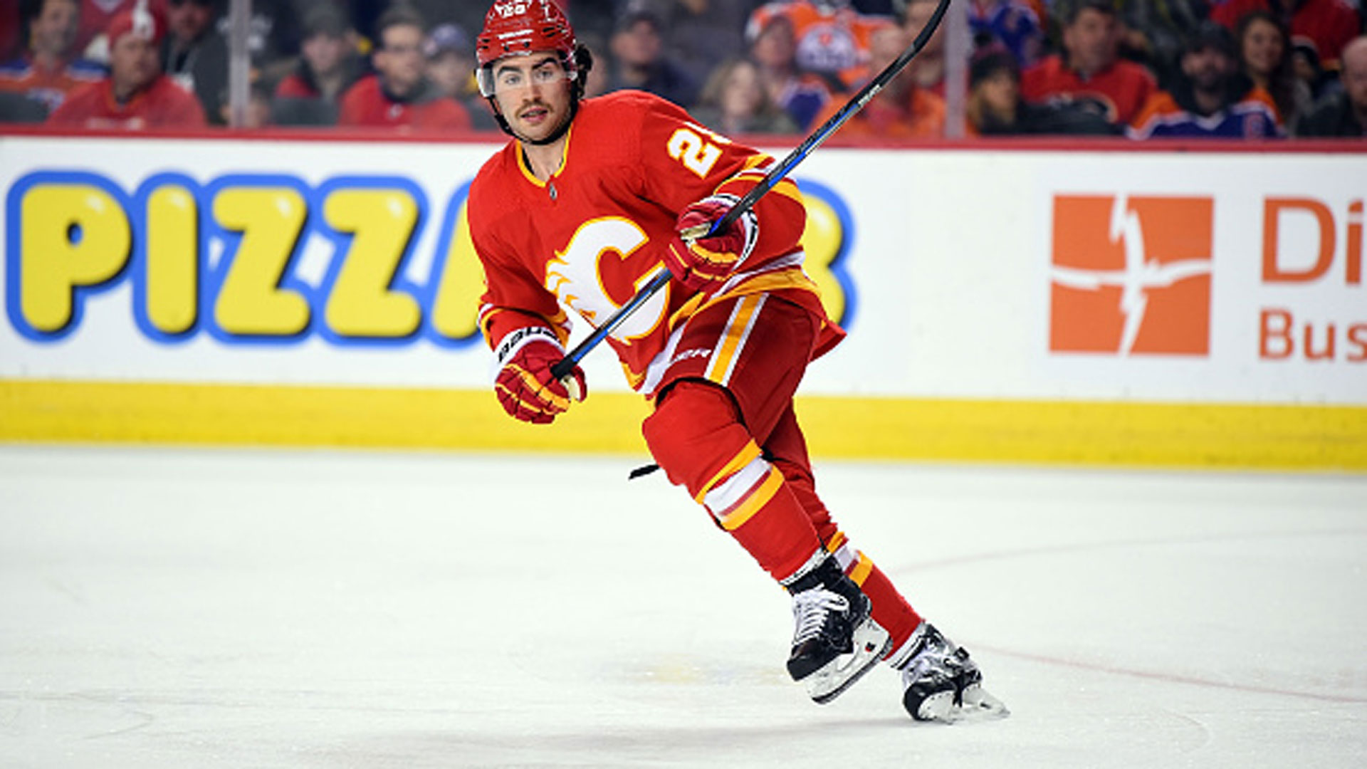 Flames Ice Chips: Dube gets shot on top line; Phillips' grandfather holds court