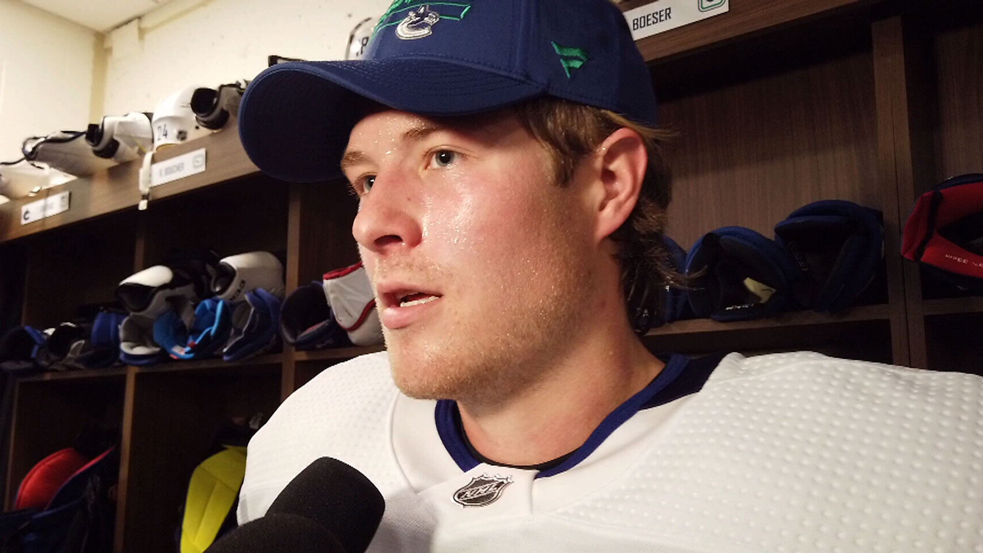 Boeser says he's good to go, wants to get his confidence back