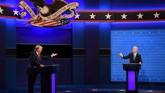 Undecided Voters Say Second Trump-Biden Debate a Tie: Luntz