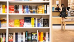 Book sales are suffering from a lack of face-to-face interaction: Ben McNally Books