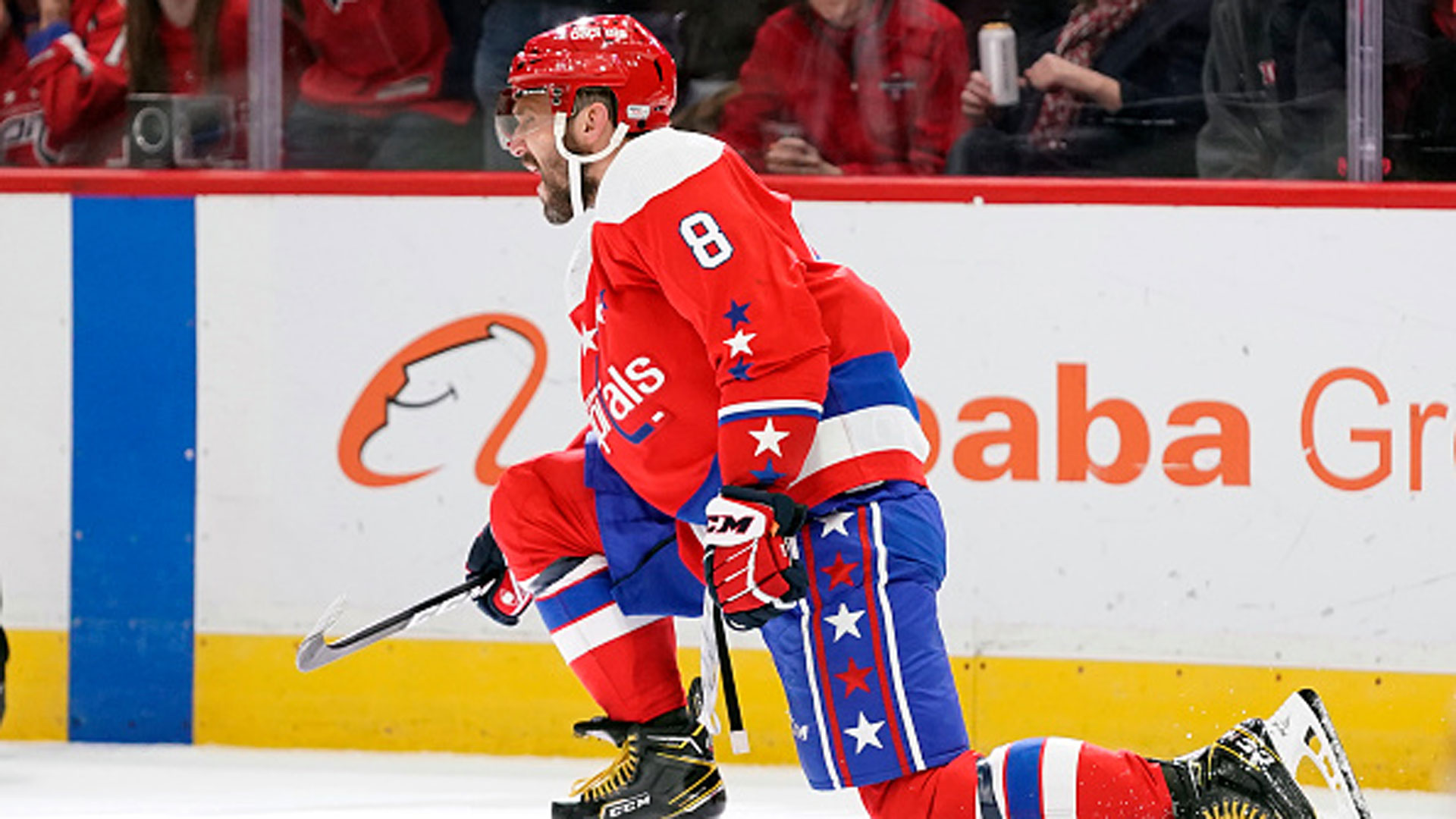 Ovi's hat trick moves him one goal behind Lemieux on all-time list