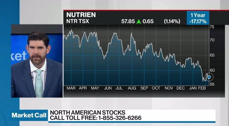 Jamie Murray discusses Nutrien - Video - BNN