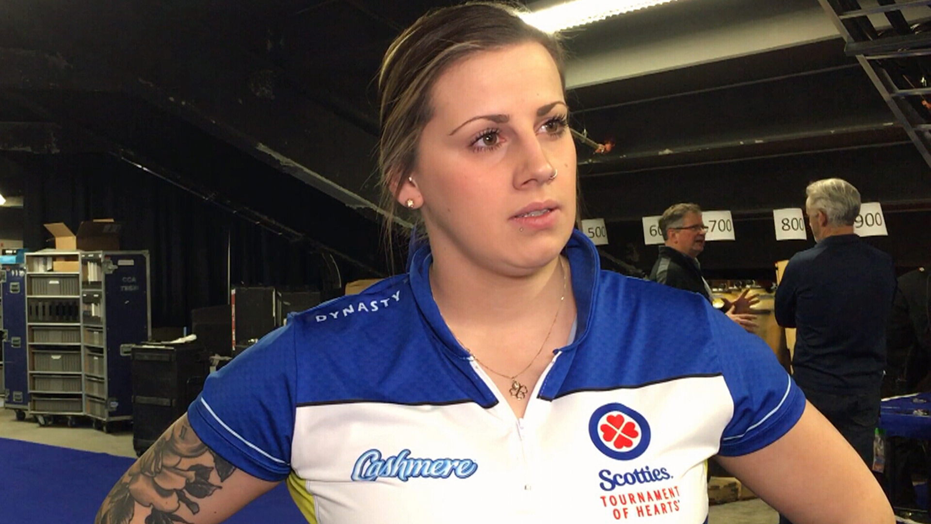 Cameron on what has worked well for Alberta at the Scotties